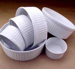 Contenitori di porcellana per il microonde