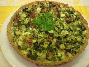 Ricette torta salata con zucchine al microonde